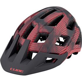 Cube Badger Casco, rosso